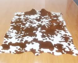 Cow Print Rugs Faux Cow Print Rug Rugs Ideas