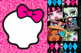 monster high birthday invitations u2013 gangcraft net
