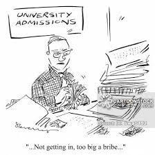 College Admissions cartoon   of