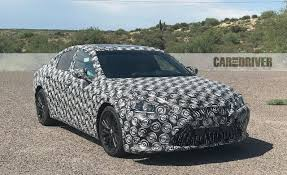 lexus es meaning 2019 lexus es spied gearing up for a bigger role