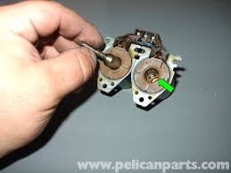 mercedes benz w210 heater control valve disassembly and cleaning