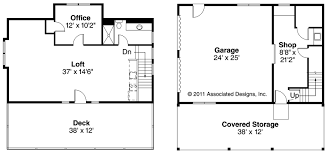 Barn Floor Plans With Loft Apartments Knockout Craftsman House Plans Car Garage Wloft