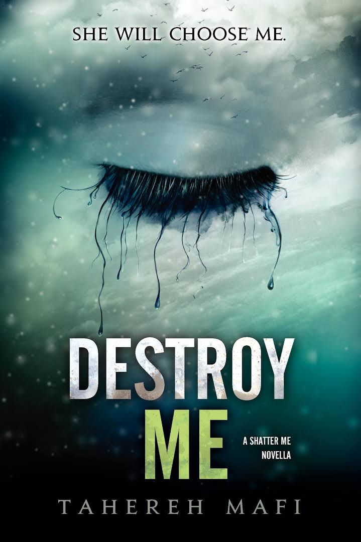 Image result for destroy me tahereh mafi