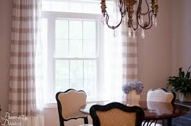 curtains in living room and dining room plum doodles