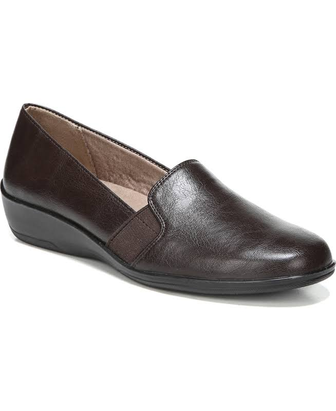 LifeStride Isabelle Wedges Brown- Womens