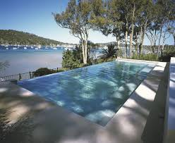 pool simple and neat modern backyard decoration ideas using above