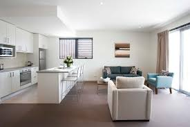 Single Story Open Concept Floor Plans Phenomenal Kitchen Living Room Design Living Room Druker Us
