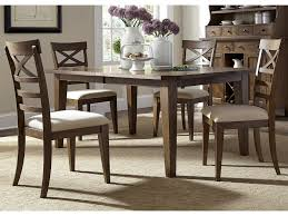 liberty furniture hearthstone mission style 5 piece rectangular