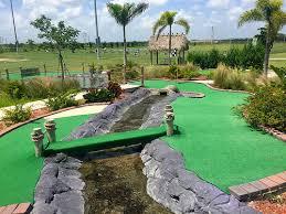 Backyard Golf Hole by Mini Golf Course At Alico Family Golf Alico Family Golf