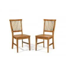 arts u0026 crafts dining chair cottage oak pair homestyles