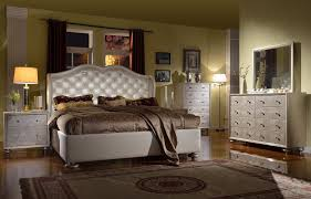 Glam Crystal Tufted Leather Bed Beds And Bedding Pinterest - White tufted leather bedroom set