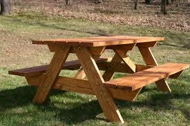 Plans For Wood Picnic Table home depot picnic table plans u2014 unique hardscape design natural