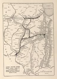 Chicago Line Map by