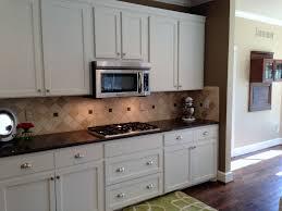 Small Kitchen Backsplash Ideas by Kitchen Backsplash Ideas With White Cabinets And Dark