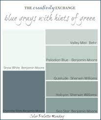 nearly perfect neutrals color palette monday 2 blue grey