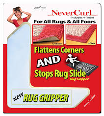Carpet Rug Gripper Rug Gripper With Nevercurl Instantly Flattens Rug Corners And