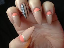 acrylic nails lady gaga matte nails fall youtube