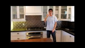 Kitchen Cabinet Under Lighting How To Install Under Cabinet Over Counter Led Strip Lighting Youtube