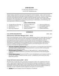 Call Center Manager Job Description  retail description for resume     happytom co