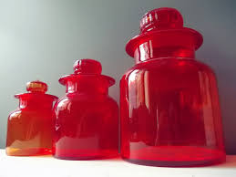 Kitchen Canisters Red 28 Red Glass Kitchen Canisters 29 Best Images About Fleur