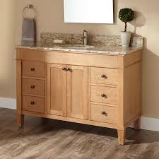 Black Distressed Bathroom Vanity by 48
