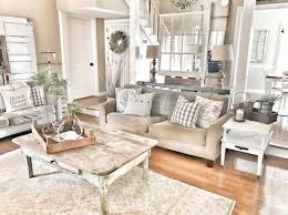 Farm Style Living Room by Farmhouse Living Room Chippy Doors And Windows Fixer Upper