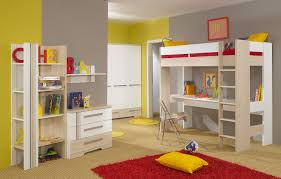 White Bedroom Desk Furniture by Beds With Desks On Top Top Quality Loft Bed With Integrated Angle