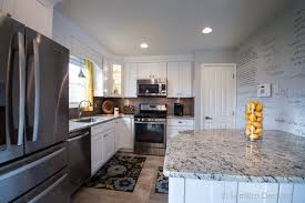 Kitchen Cabinets White Shaker Columbus Ohio Ice White Shaker Sembro Designs