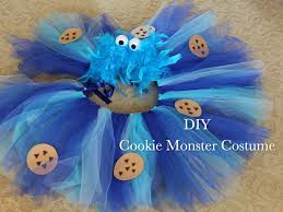 Cookie Monster Halloween Costumes by Cookie Monster Costume Youtube