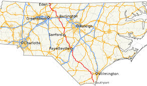 Charlotte Usa Map by North Carolina Highway 87 Wikipedia
