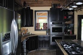 Black Kitchen Designs Photos Black Kitchen Cabinets Classic And Elegant Look