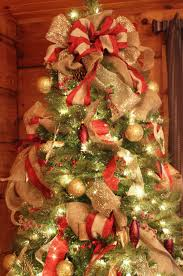 ribbon decorations for christmas trees ideas how to decorate a
