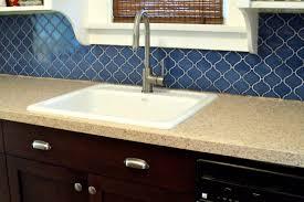 Blue Backsplash Kitchen Blue Backsplash With Concept Gallery 14080 Fujizaki