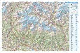 China Topographic Map by Great Himalaya Trail Ght Knowledge Base Maps Trekking