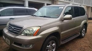 lexus gx 470 for sale 2007 tokunbo 2004 lexus gx470 for sale 08023295044 autos nigeria