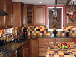 Ceramic Kitchen Backsplash Slate Backsplashes Hgtv