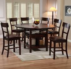 Kitchen Table Bar Style Pub Style Kitchen Table Round Kitchen Table With Leaf Dining