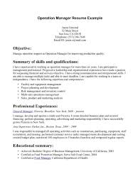 Examples Of Professional Summary For Resume by Professional Summary Template Template Design