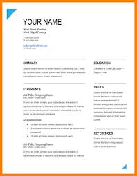 Resume Sample Pdf Free Download by Free Resume Templates Pdf Resume For Your Job Application