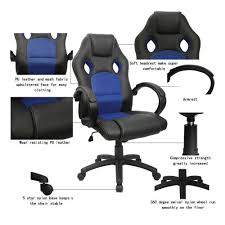 How To Stop Swivel Chair From Turning Amazon Com Homall Executive Swivel Leather Office Chair With