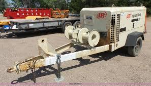 1998 ingersoll rand 375 air compressor item da2753 sold
