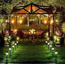beautiful and safety solar landscape lighting lighting designs ideas