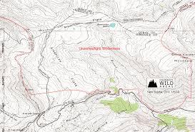 Southern Colorado Map by Uncompahgre Wilderness Colorado U0027s Wild Areas