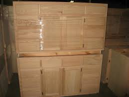 Stain Unfinished Kitchen Cabinets by Unfinished Pine Kitchen Cabinets