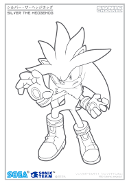 super sonic coloring pages silver channel coloring page by fuzon s on deviantart
