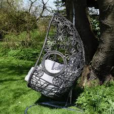 Macrame Hammock Chair Macrame Hanging Egg Chair By Ella James Notonthehighstreet Com