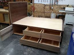 Build Your Own Platform Bed Base by Best 25 Platform Bed Storage Ideas On Pinterest Bed Frame