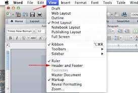 word     mac headers AcademicTips org