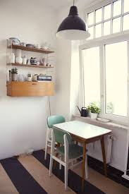 best images about kitchen tables for small spaces pinterest love the stripe design linoleum great idea small kitchen table