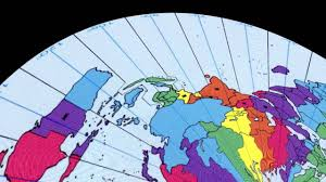 World Time Zones Map by Flat Earth Time Zones By Paul Cheefts Youtube